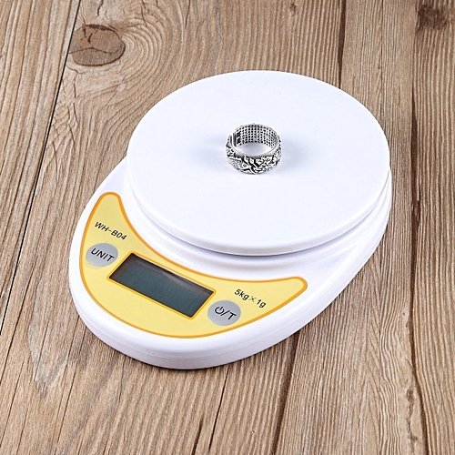 WH-B04 5kg/1g LCD Digital Electronic Kitchen Scale For Food Balance Weighing