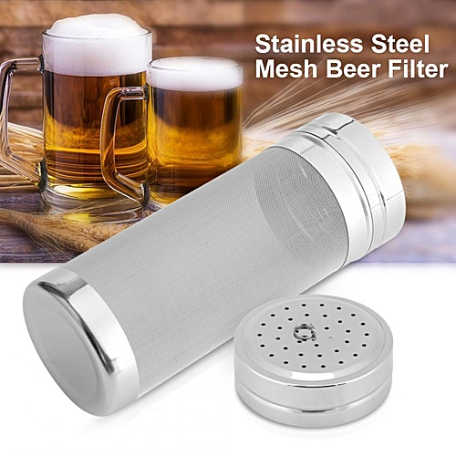 300 Micron Stainless Steel Mesh Beer Filter For Homemade Brew Home Coffee Dry Hopper