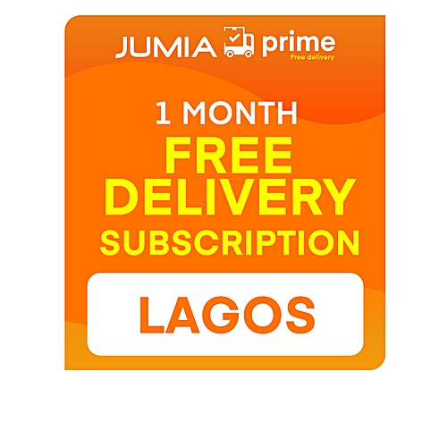 Jumia Prime - Free Delivery Lagos - 1 Month Subscription