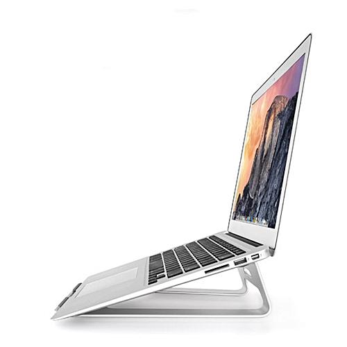 Universal Aluminum Desktop Holder Table Stand Cradle Mount For Laptop SL-Silver