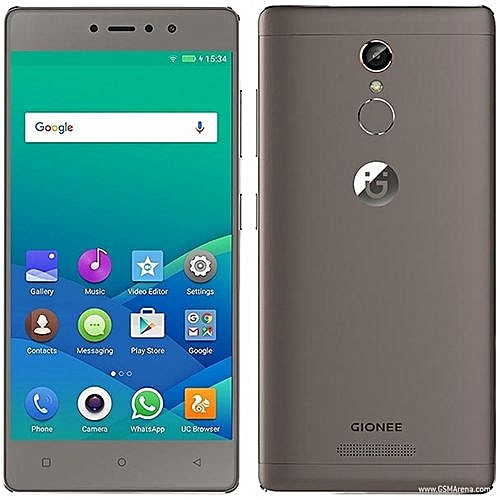 Gionee s6s 5.5-Inch fhd 3gb 32gb rom Android 6.0 Marshmallow 13mp 8mp Dual sim 4g Smartphone - Mocha Gold