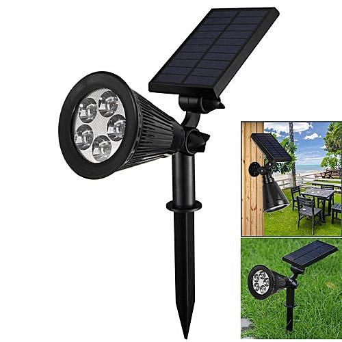 5LED Solar Landscape Lights Spotlight Outdoor Garden