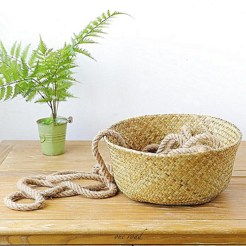 Detailed Information On Waterproof Seaweed Storage Laundry Basket Family Garden Flower Plant Pots