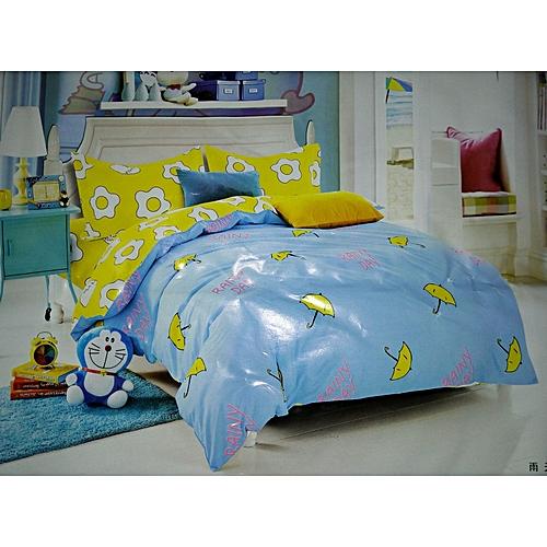 Duvet + Bedsheet + Pillow Cases