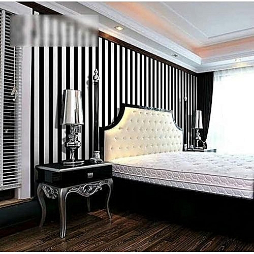 Wallpaper - Black & White - 5.3 Sqm