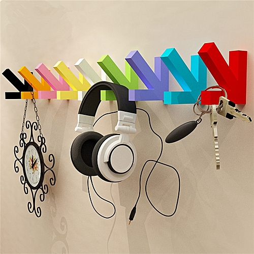 DIY Arrow Pothook Wooden Wall Mounted Hanging Arrow Hook Home Wall Decor Hanger