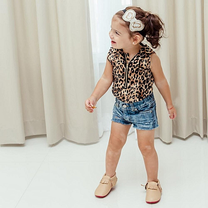 a63196786169 ... Toddler Kids Baby Girl Hooded Leopard Print T Shirt Top Shorts Pants  Sport Pants Clothes Set ...