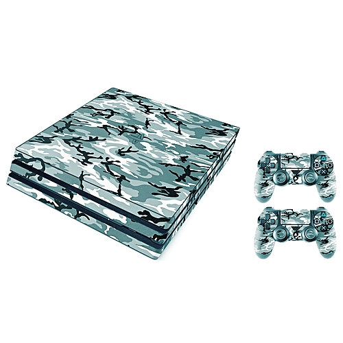 Sony Playstation 4 Pro Skin (ps4-pro)- New - Urban Army Camouflage Premium - PS4 Pro Console Skins