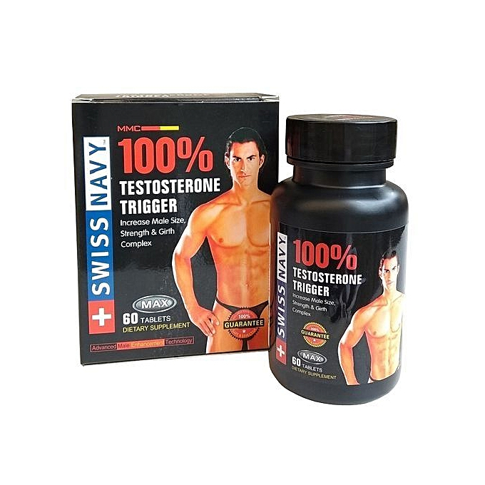 Swiss Navy 100% Low Testosterone Booster Supplement (For Men) Jumia.com.ng
