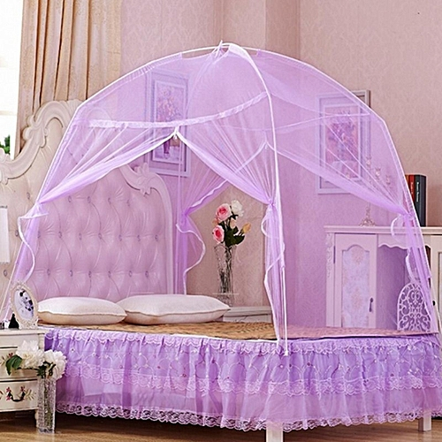 Mosquito Net Tent Foldable Bed Net For Bedding Room 5X6 Bed Size