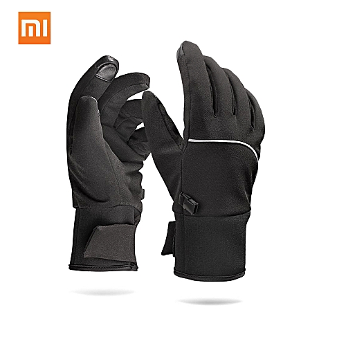 New Version Xiaomi Mijia Qimian Touch Screen Gloves Winter Autumn Outdoor Thicken Warm Unisex For Driving Moto Fishing Unisex