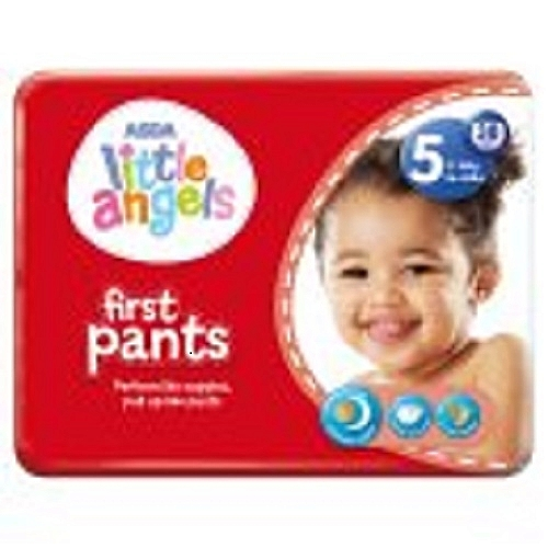 Little Angels First Pants Size 5 38 Count