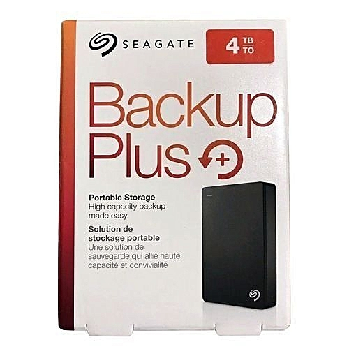 Backup Plus 4TB External USB 3.0/2.0 Portable Hard Drive