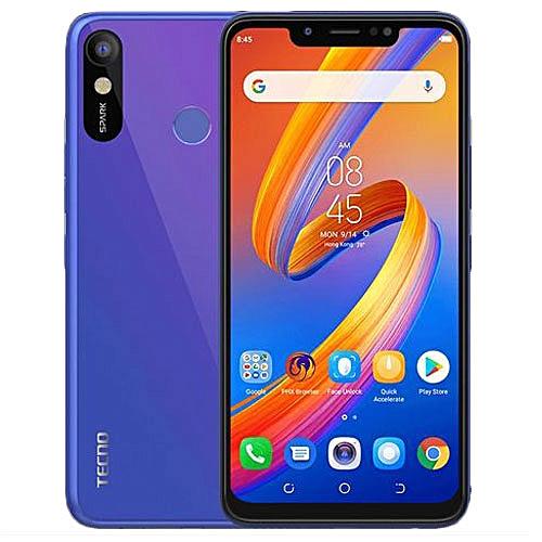 Spark 3 (KB7) 6 2-Inch HD (1GB,16GB ROM) Android 8 1 Oreo, 13MP + 8MP Dual  SIM 3G Smartphone - Aqua Blue (MW19 )