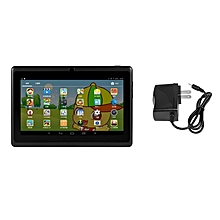 HP-Q88 7inch Children Tablet 1G+8GB A33 Quad Core Android 4.4 Tablet PC 0.3MP Black for sale  Nigeria