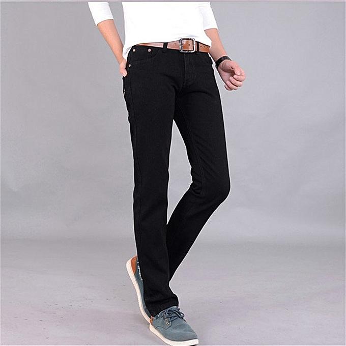 Fashion New Fashion Mens Designer Jeans Luxury Classic Slim Fit
