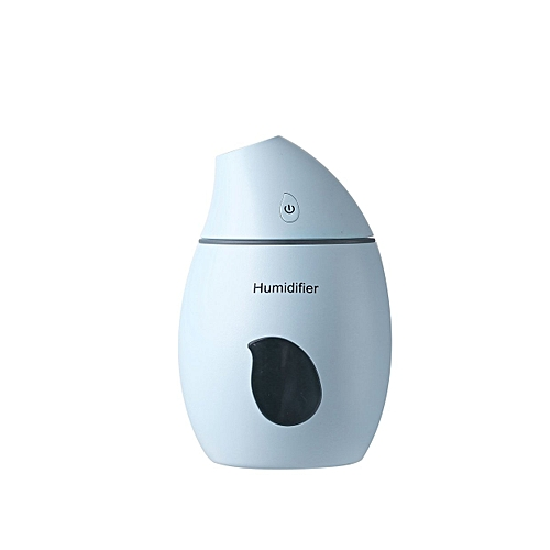New USB Creative Colorful Mini Lamp Mango Humidifier-blue