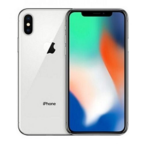 Iphone X 64gb Silver With Tempered Glass
