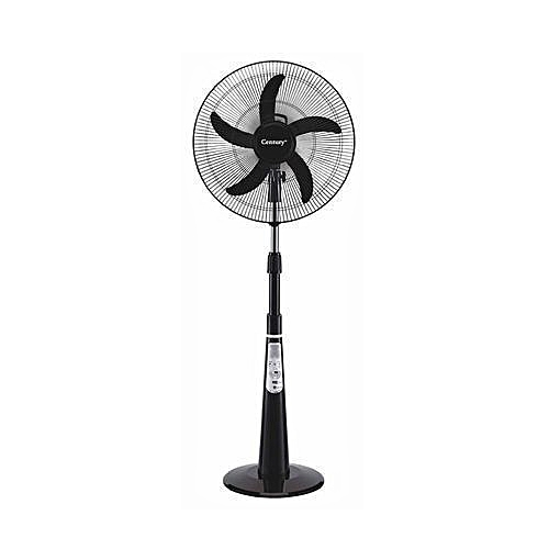 "Century 18"" Rechargeable Fan With Remote Led Light"