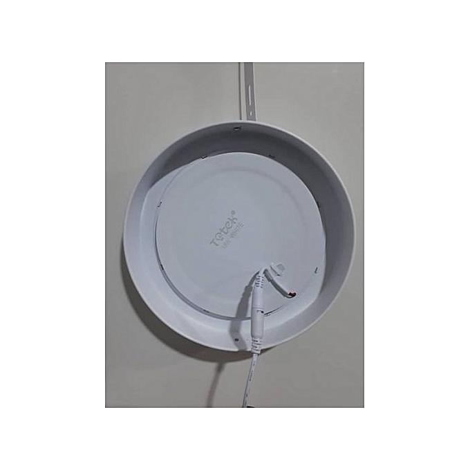 12W Ceiling LED Panel Light - Round (White)