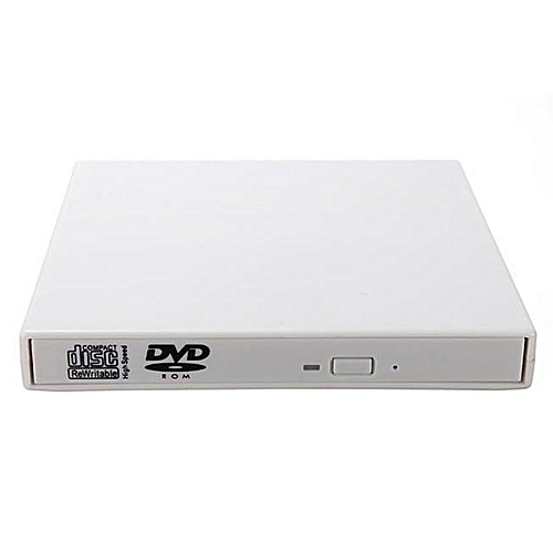 100% New USB 2.0 External Combo Optical Drive CD/DVD Player Burner For PC