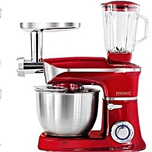3 In 1 Power Kitchen Machine Food Processor - Food Mixer, Meat Mincer And Grinder 1900W