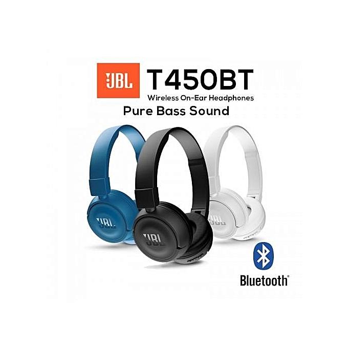 JBL T450BT WIRELESS BLUETOOTH HEADSET HEADPHONE INGCHUN