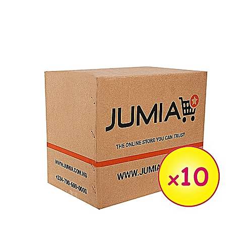 10 Small Branded Cartons (003-2) (203x102x102mm)