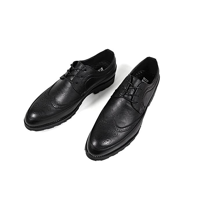 4eea9a3f9 Fashion Men's Brogue Shoes - Black   Jumia NG
