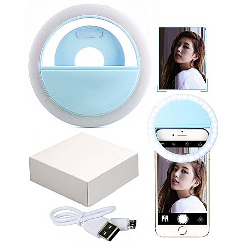Selfie Ring Light Rechargeable-With Inbuilt Battery