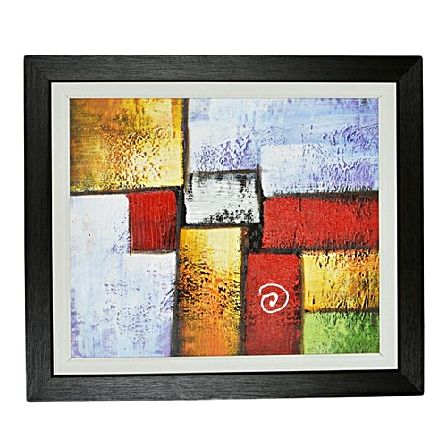 Canvas Oil Paint For Wall - Multi