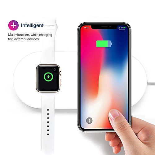 hot sale online 137be 9c32b 3 In 1 QI Wireless Charger For IPhone XS Max XR X 8 Samsung Wireless  Charging Dock Station For Apple AirPods Apple Watch 1 2 3 4
