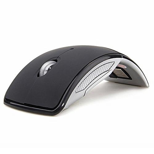 b527d5941b8 Generic Optical 2.4G Foldable Wireless Mouse USB Folding Receiver Ergonomic  Mice Black