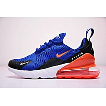 hot sale online 23651 c51d5 2018 Nike Unisex Air Max 270 Running Sneakers AH8050-460 Blue Black Red  White EU36