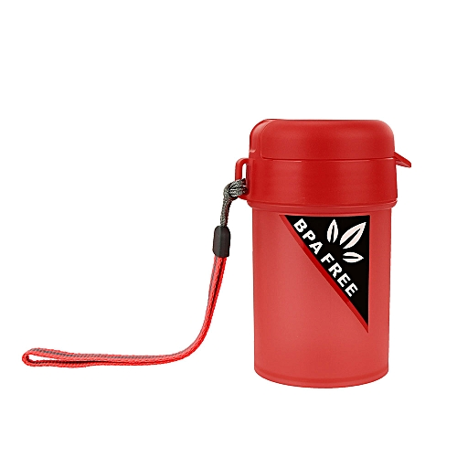 Portable Sports Water Bottle Plastic Water Cup Creative Kettle Drink Travel Cup