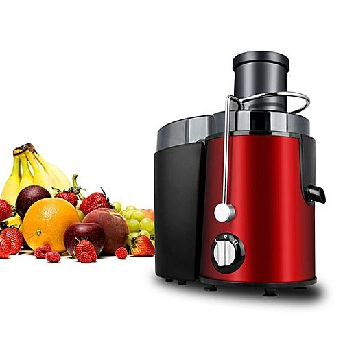 Stainless Steel Fruit Vegetable Juicer Juice Maker Red