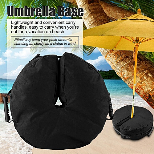 Round Umbrella Base Sand Weight Bag For Patio Umbrella