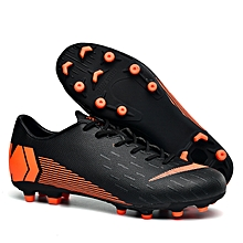 51d331962ee Men Football Soccer Shoes Athletic Leather Training Sneakers