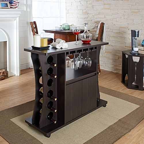 Wine Rack - Brown (DELVERY WITHIN LAGOS AND ABUJA ONLY)