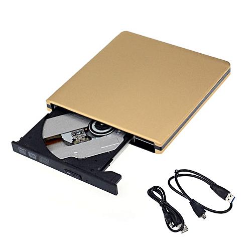 100% New Slim External USB 3.0 DVD + / - RW DVD-ROM CD-RW DVD-RW Burner Drive