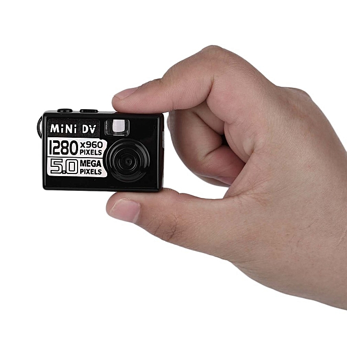 Digital Camera 5MP HD Smallest Mini DV Video Recorder Camcorder Webcam DVR-Black