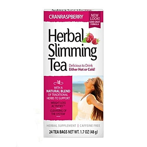 Herbal Slimming Tea With Cranrasp Berry