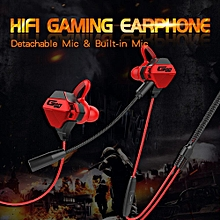 NiceEshop G11 Gaming Earphone , Gaming E-Sports In-Ear Headset With Detachable Mic Stereo For PS4, Xbox One, Nintendo Switch, Smartphone for sale  Nigeria
