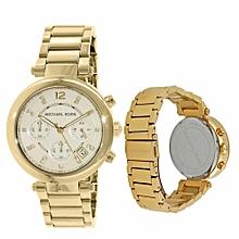 b85ec9a5032d Michael Kors Everest Chronograph Glitz MK5754 Wrist Watch For Women. -44% ₦  50