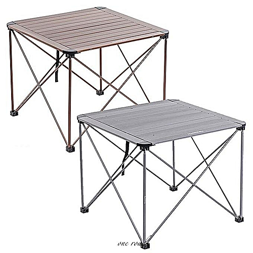 Foldable Table Portable Plastic Auminum Indoor And Outdoor Picnic Table Camping Table