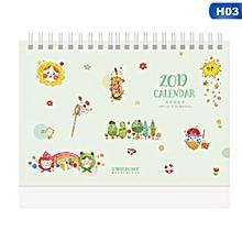 Calendars, Planners & Cards Honey Multifunction Schedule Planner Notebook Kawaii Cartoon Animal Calendar Desk Standing Paper Calendar