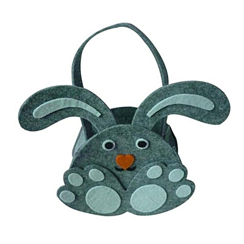 Benhongszy High Quality Easter Bunny Gift Candy Bag Cute Rabbit Easter Day Handbags Cartoon Portable Egg Bags For Children's Gift Bags