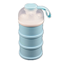 Portable Baby Infant Feeding Milk Powder Food Bottle Container 3 Cells Grid Practical Box