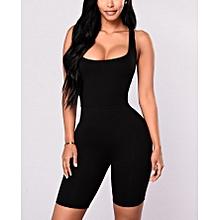 d400c768e1f Valentina Black Sleeveless Jumpsuit