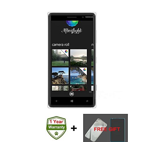 Lumia 830 5 Inch 1GB + 16GB 10MP Single Sim Windows 3G Smartphone (Gift) – Black